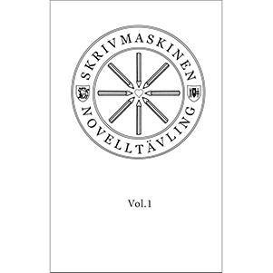 Skrivmaskinen vol 1. Novelltävling. Omslagsbild.