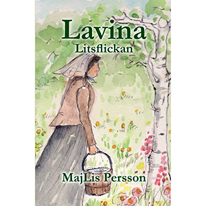 Lavina - Litsflickan. Omslagsbild.