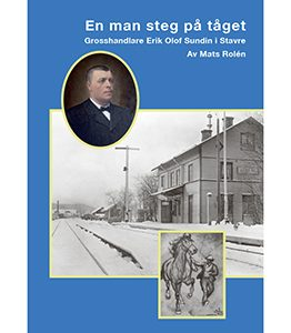 En man steg på tåget