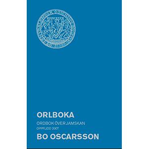 Orlboka - ordbok över jamskan. Omslagsbild.