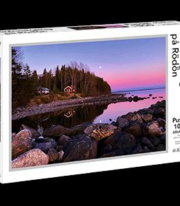 Solnedgång på Rödön – Pussel 1000 bitar